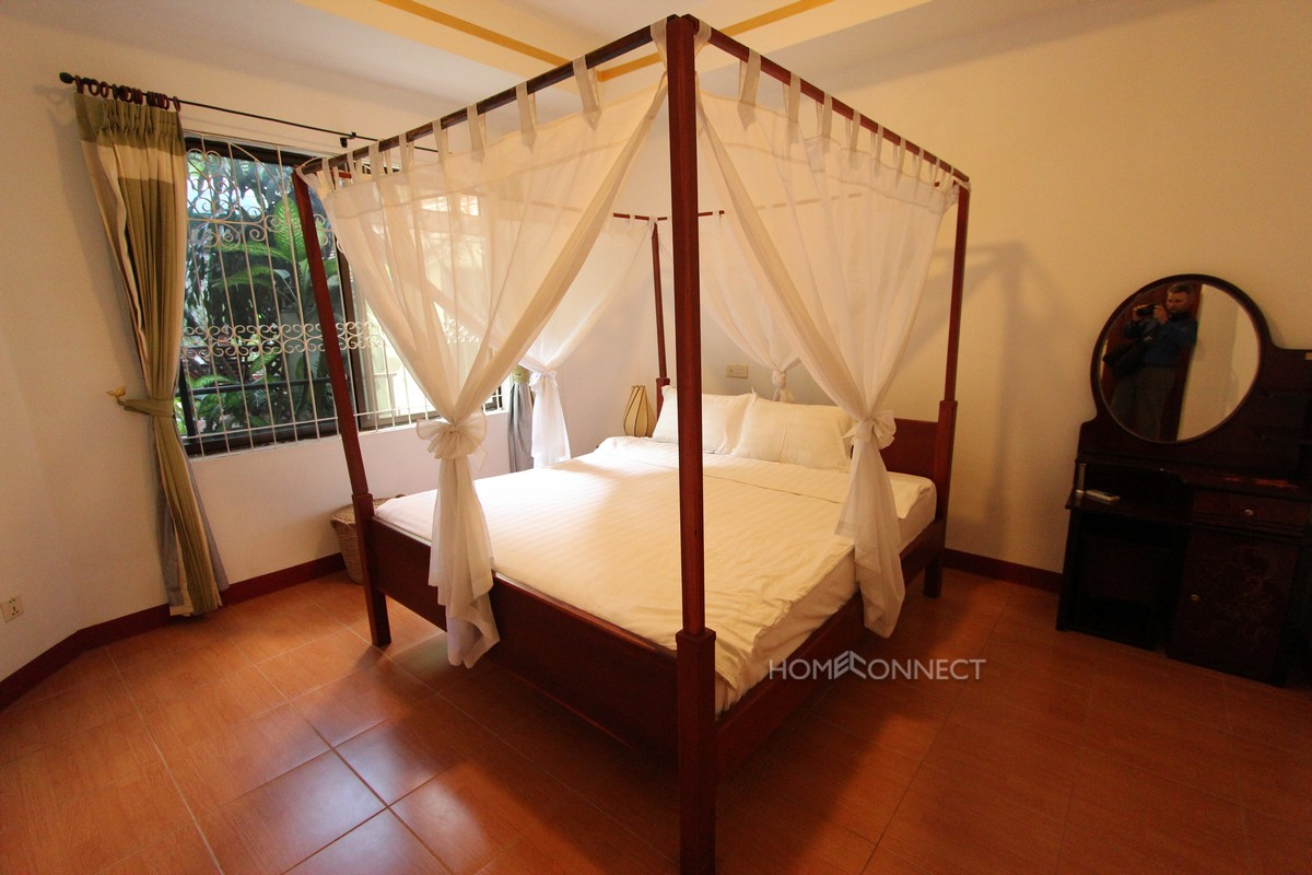 Fully serviced 2 bedroom apartment in Tonle Bassac