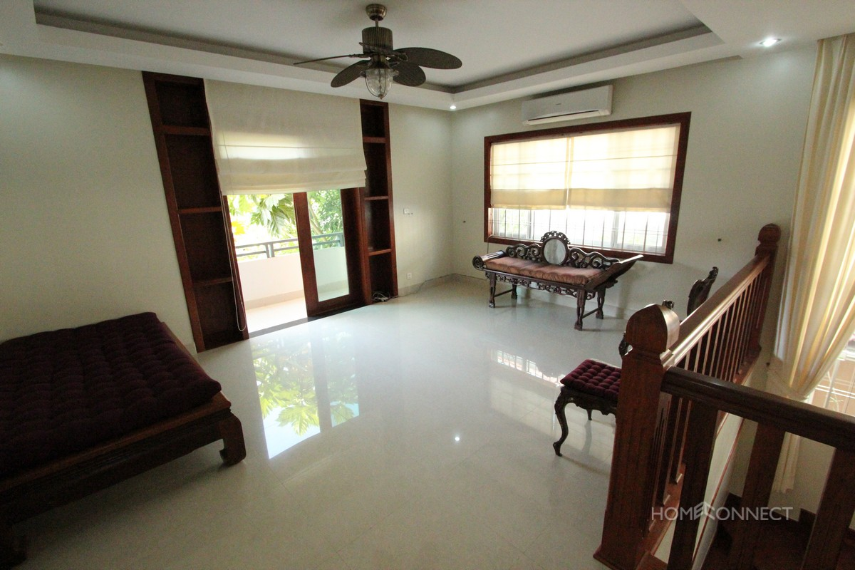 Secure 3 Bedroom Villa in Central Phnom Penh