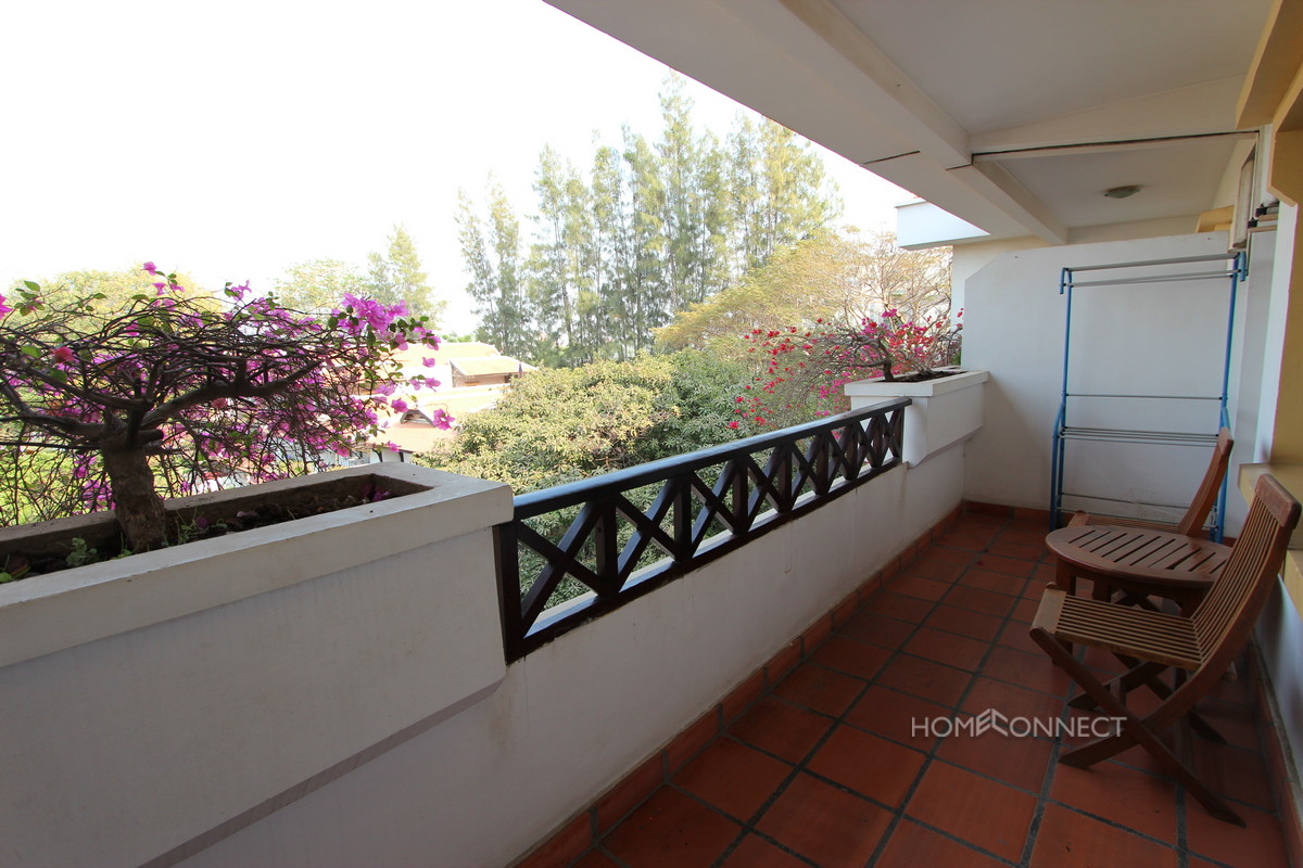 Safe and Secure 2 Bedroom Apartment in Tonle Bassac | Phnom Penh