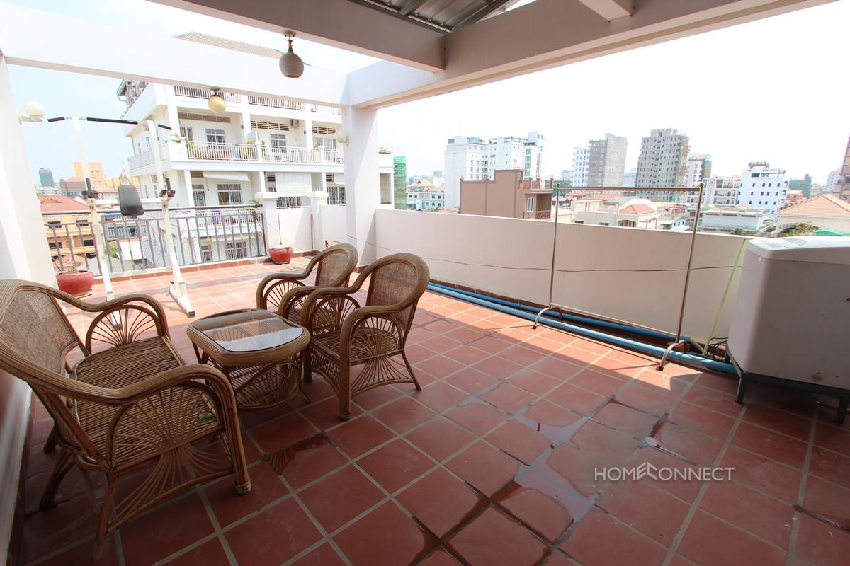 Pleasant 1 Bedroom Apartment Near the Russian Market | Phnom Penh