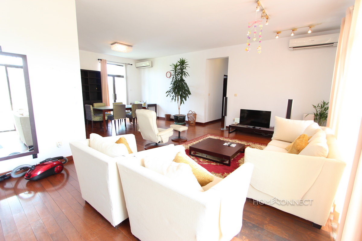 Family Sized 3 Bedroom Apartment Near Independence Monument | Phnom Penh