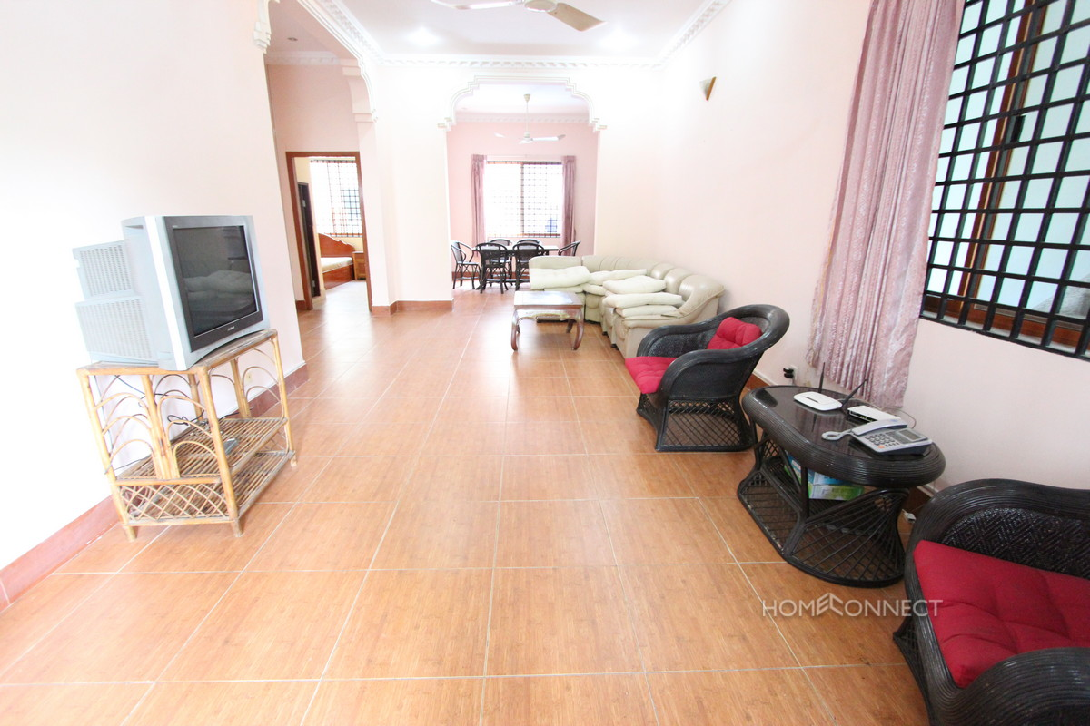 Roomy 3 Bedroom Apartment in BKK3 | Phnom Penh