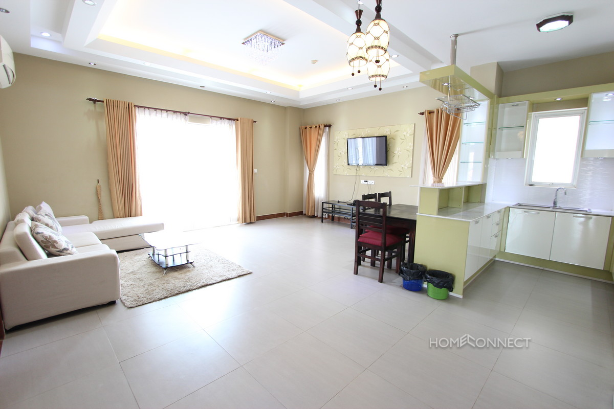 Pleasant 2 Bedroom Apartment in Toul Tom Poung | Phnom Penh