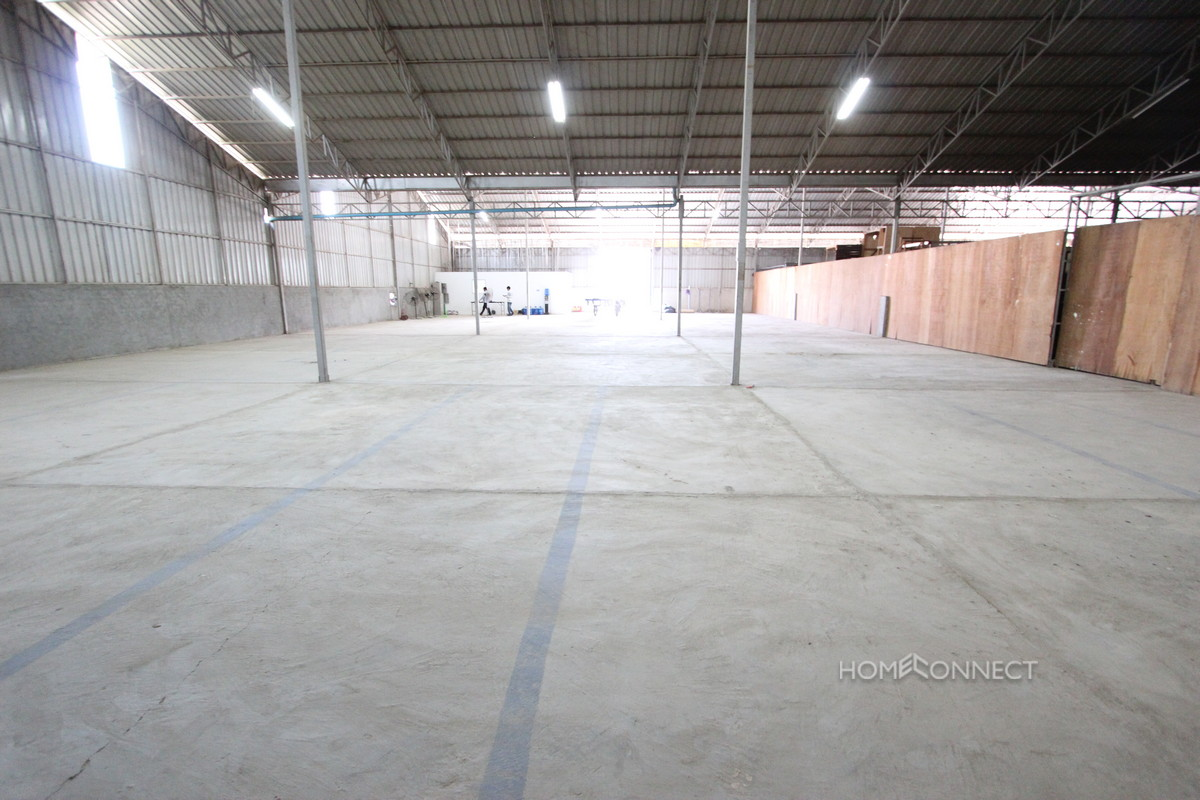 Large Warehouse In The South Of The City For Rent | Phnom Penh