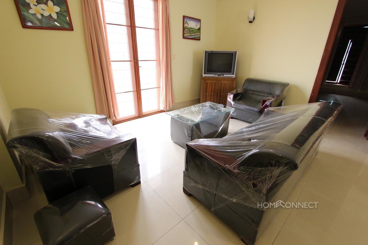 Roomy 3 Bedroom Apartment Near the Russian Market | Phnom Penh Real Estate