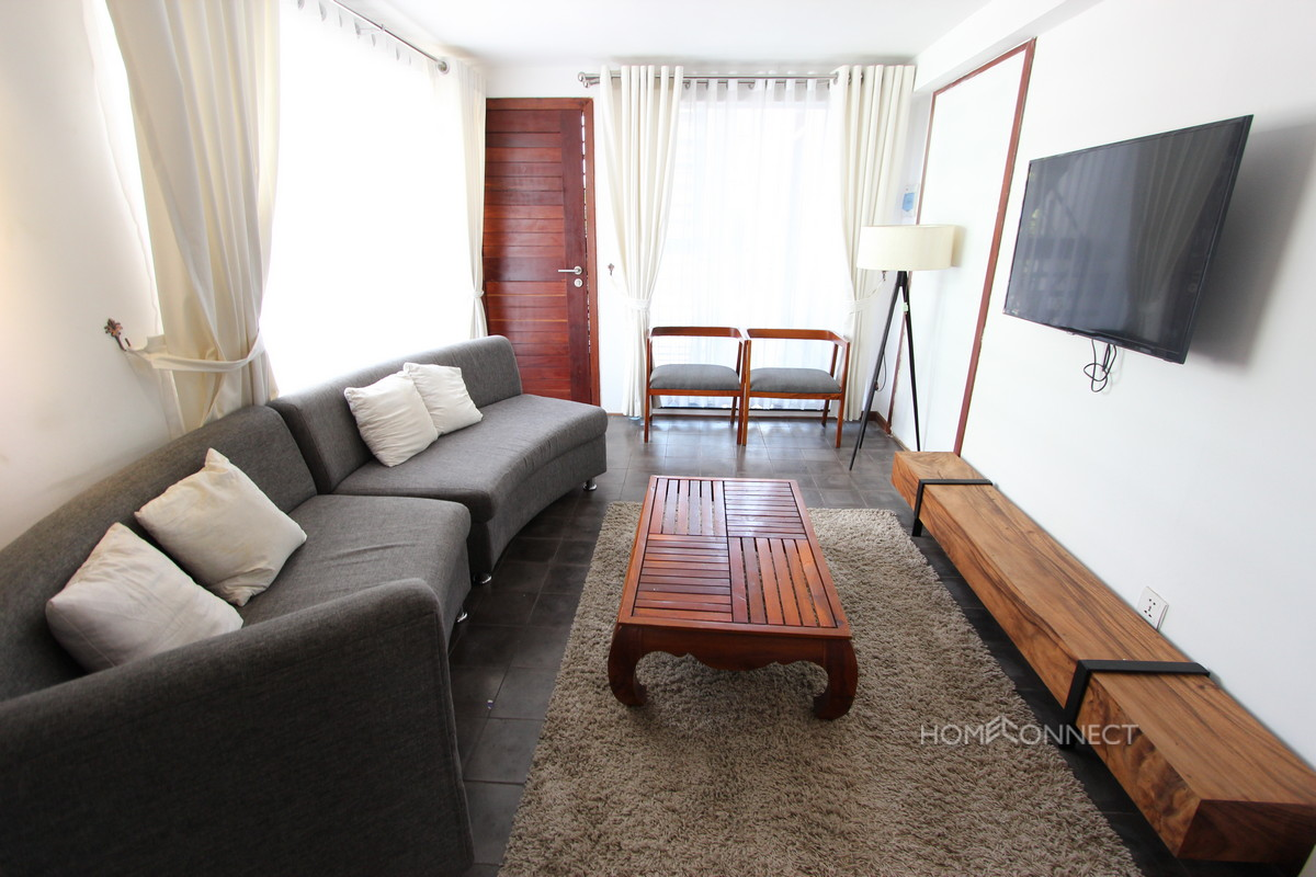 Stylish 1 Bedroom Apartment Near the Russian Market | Phnom Penh Real Estate