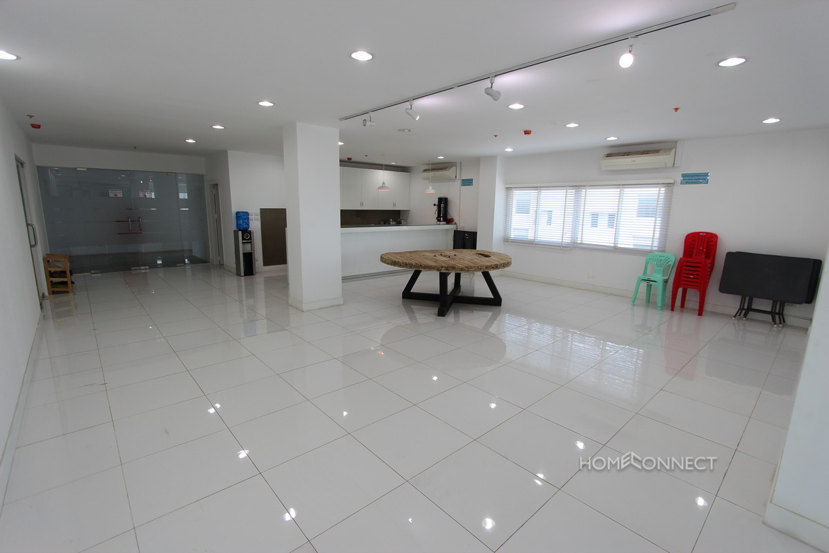 Modern Office Space For Rent On Mao Tse Toung Blvd | Phnom Penh Real Estate
