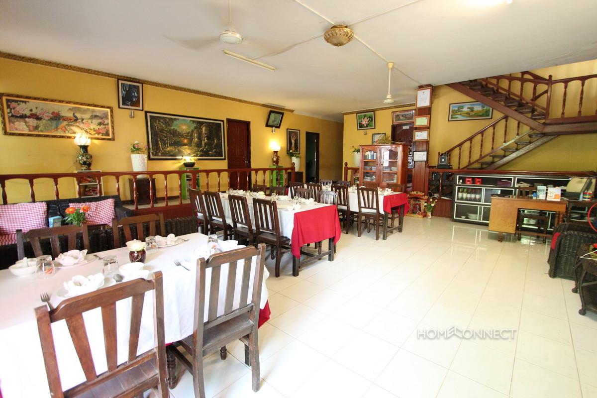 Full Furnished Restaurant for Rent in BKK1 | Phnom Penh Real Estate