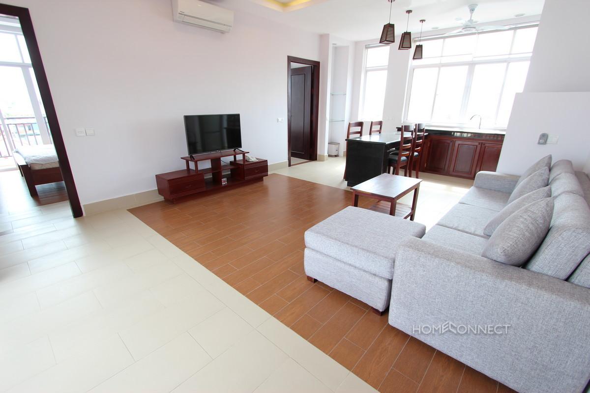 Contemporary 2 Bedroom Apartment Close To Russian Market | Phnom Penh Real Estate