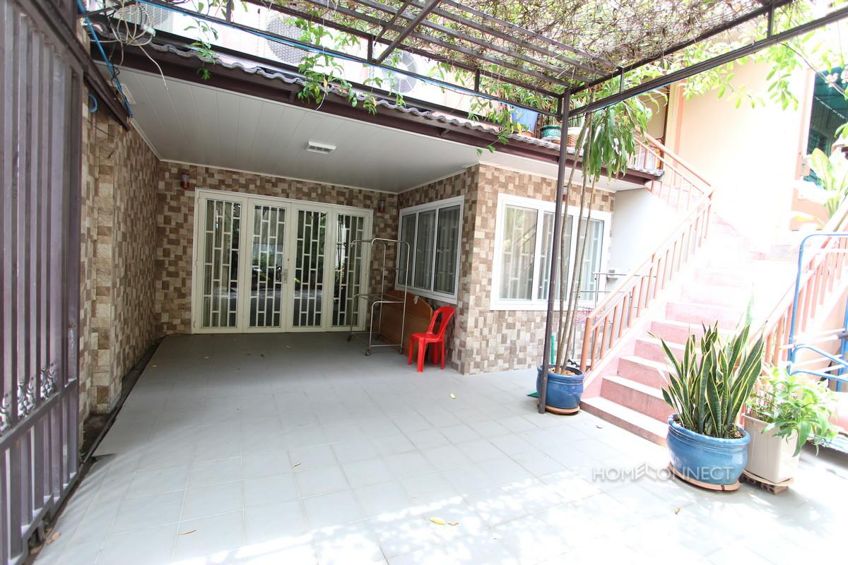Quiet 4 Bedroom Townhouse in Tonle Bassac | Phnom Penh Real Estate