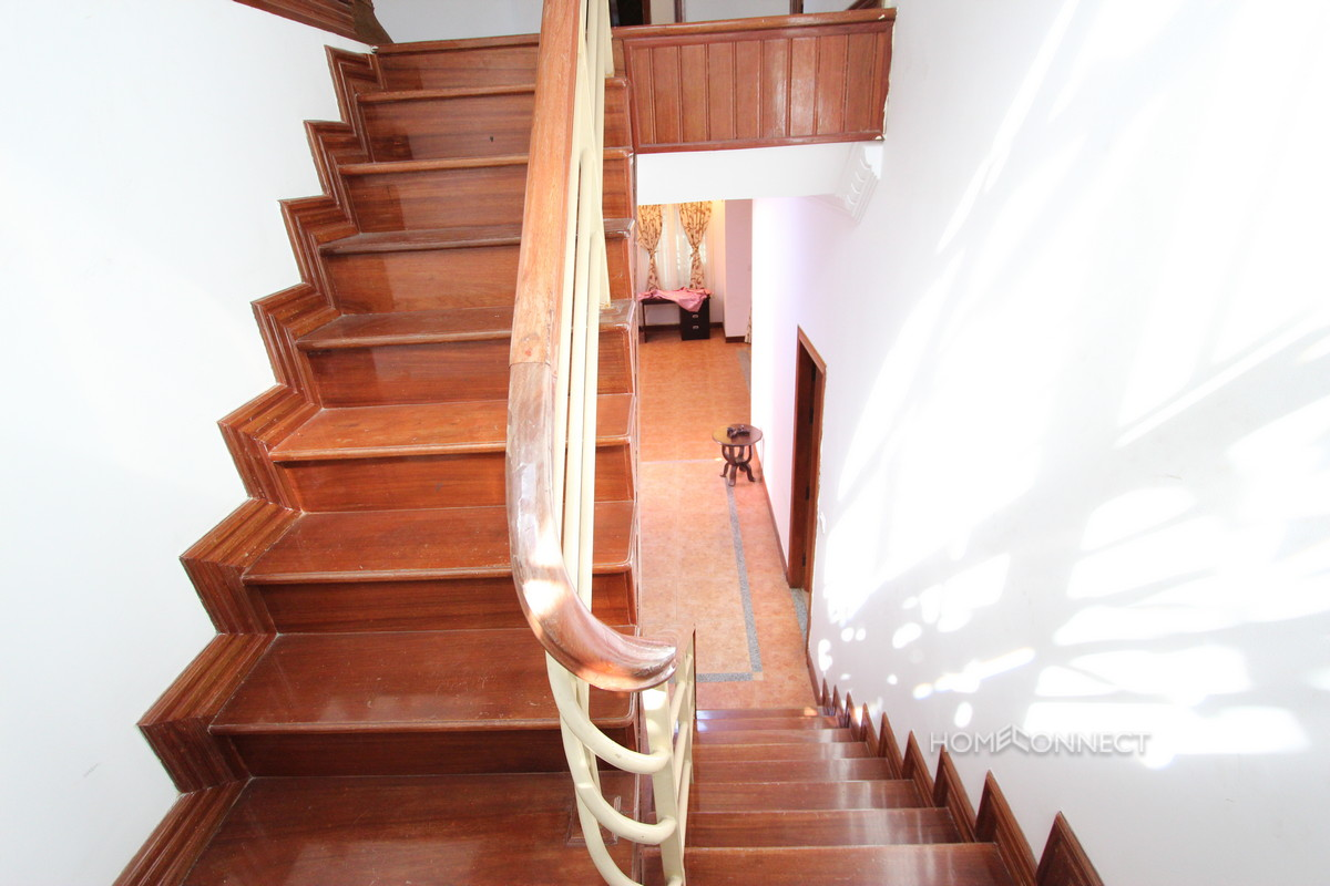 Family Sized 3 Bedroom Villa In Tonle Bassac | Phnom Penh Real Estate