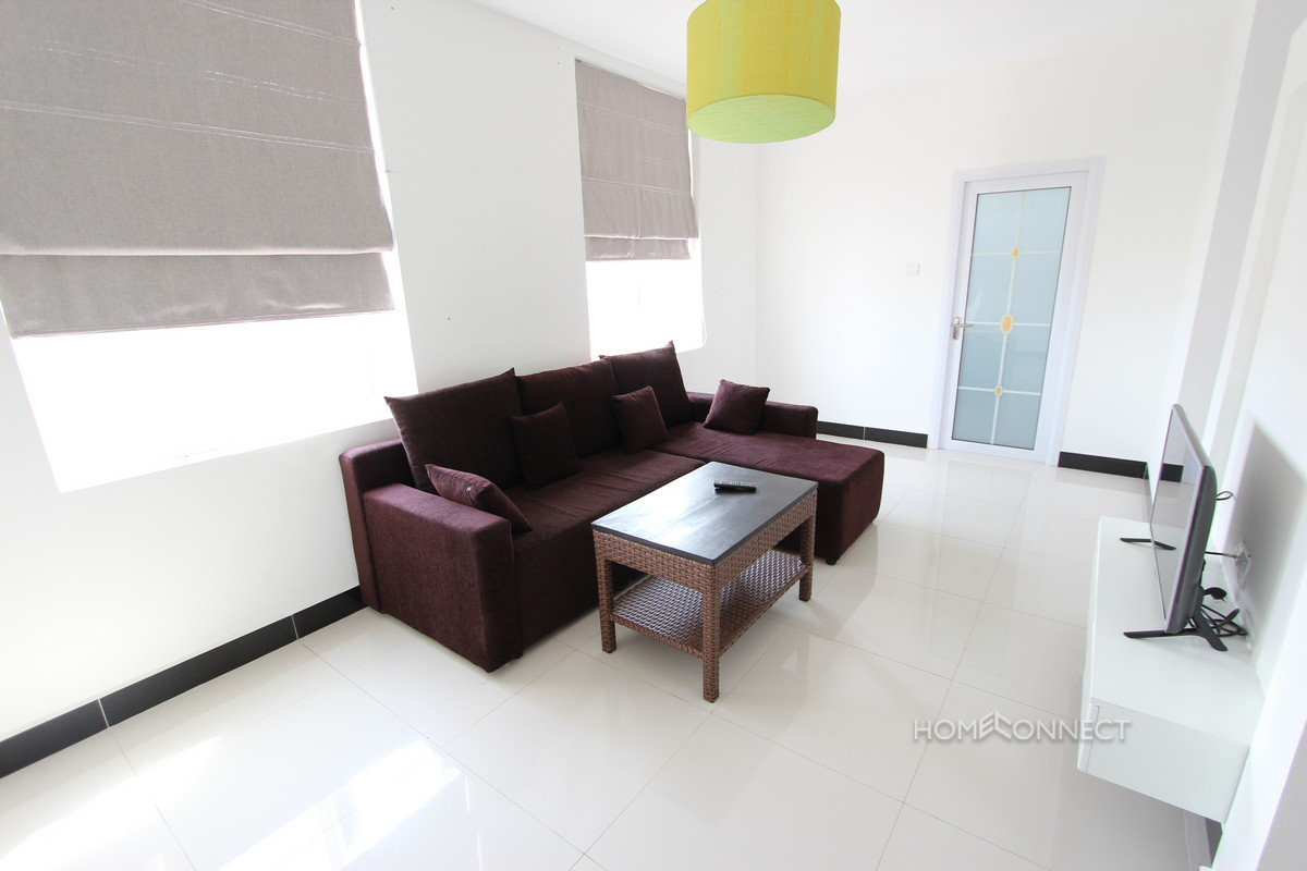 Apartment With a Large Terrace For Rent in BKK3 | Phnom Penh Real Estate