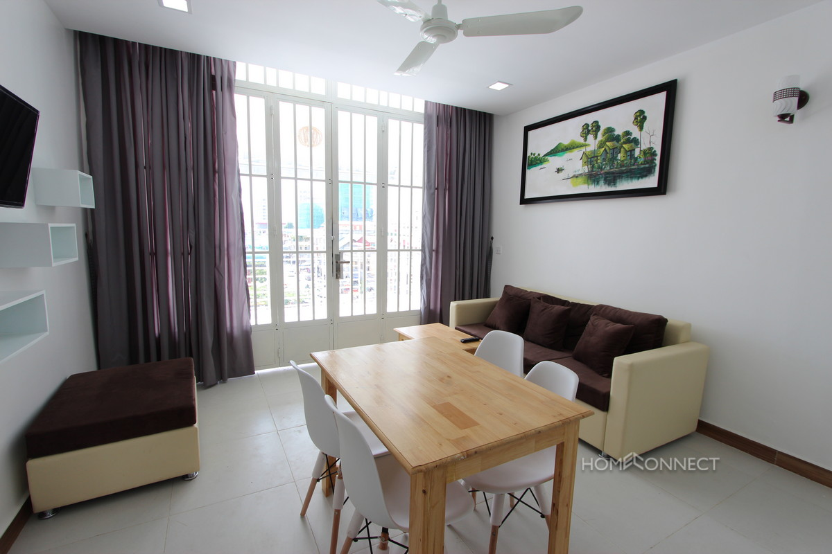 Large Terraced Russian Market Apartment | Phnom Penh Real Estate