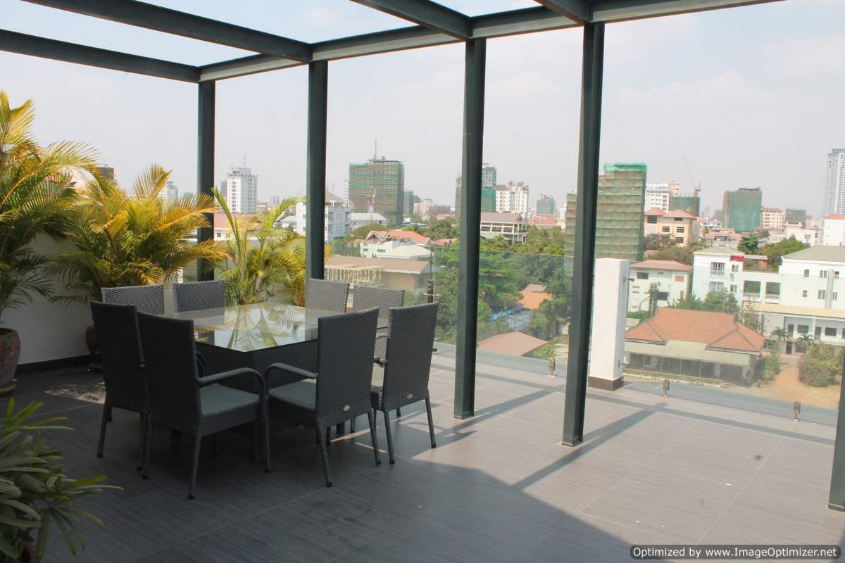 Modern 3 Bedroom Duplex Penthouse Near Aeon Mall | Phnom Penh Real Estate