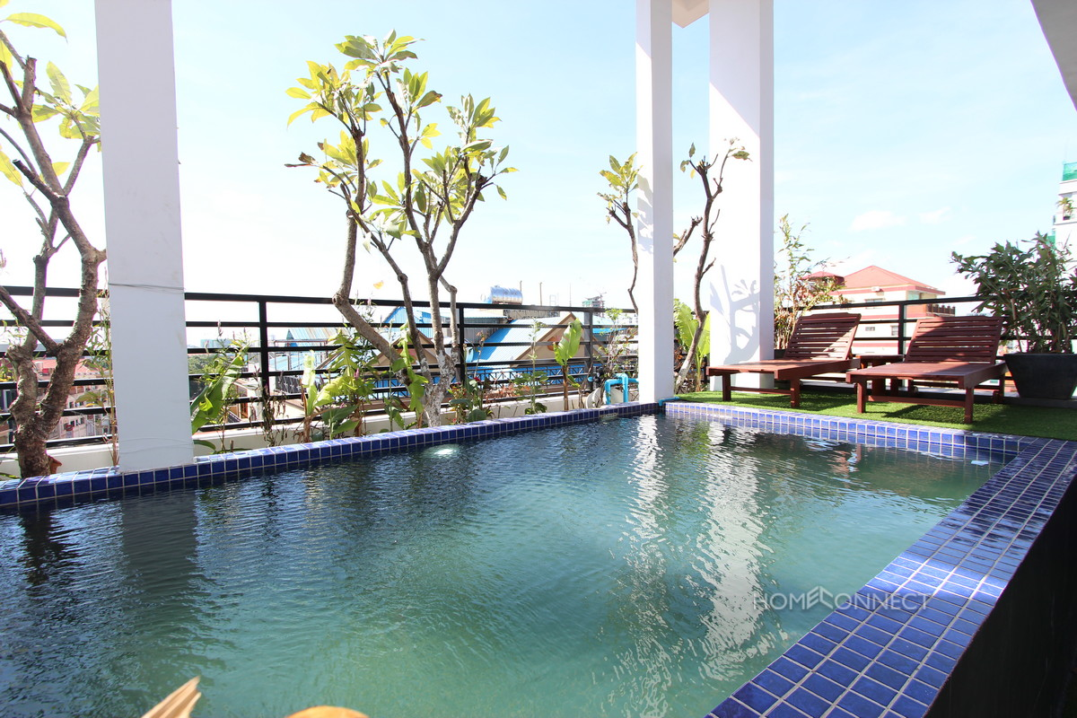 Newly Constructed 3 Bedroom Penthouse in Tonle Bassac | Phnom Penh Real Estate