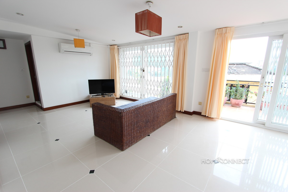 Large Private Terrace 2 Bedroom Near Independence Monument | Phnom Penh Real Estate