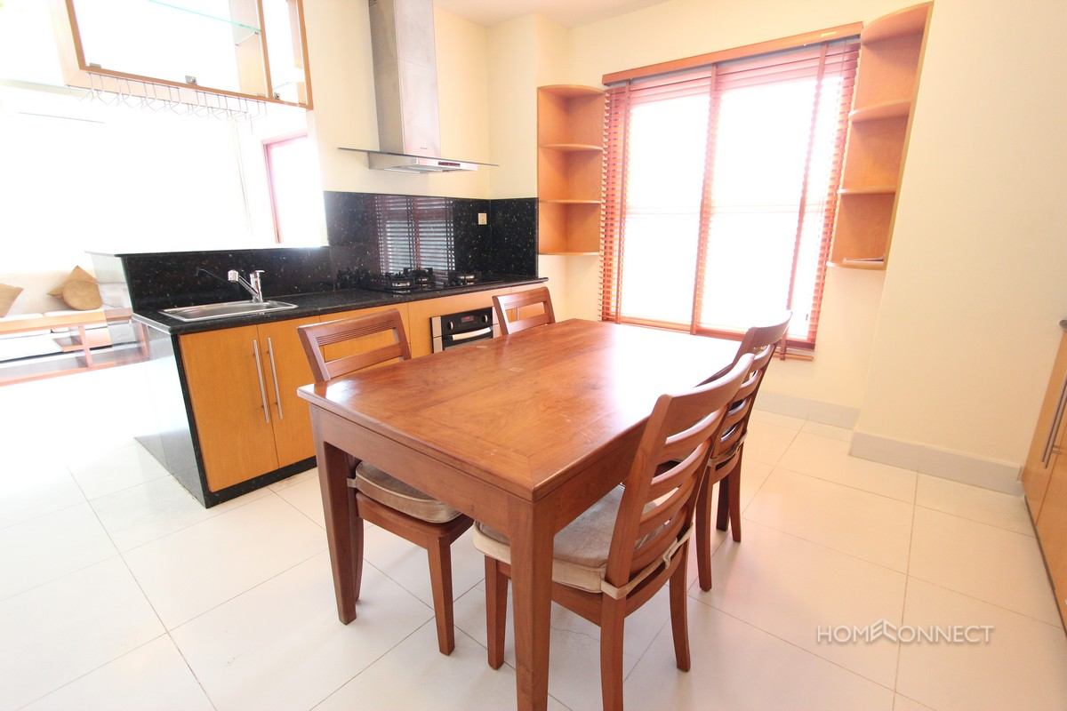 Charming 1 Bedroom Apartment For Rent In The Heart Of BKK1 | Phnom Penh Real Estate