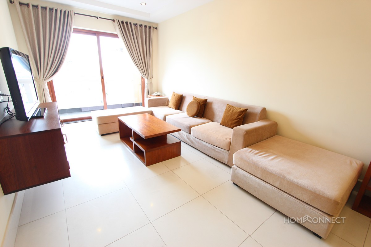 Hansome 2 Bedroom Apartment For Rent In The Heart Of BKK1 | Phnom Penh Real Estate