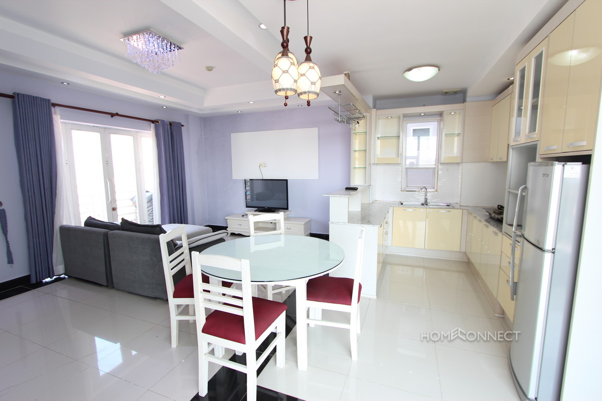 2 Bedroom Penthouse Near the Russian Market | Phnom Penh Real Estate