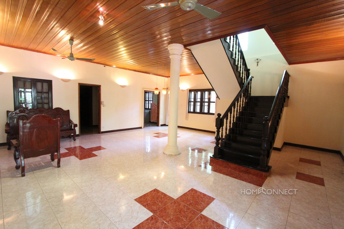 Family Sized 4 Bedroom Villa Near Independence Monument | Phnom Penh Real Estate