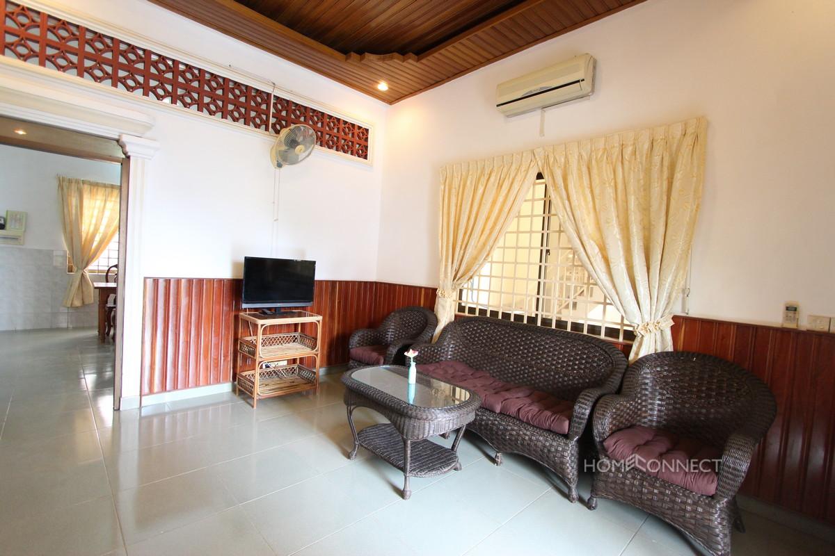 Huge Private Balcony 2 Bedroom 2 Bathroom Apartment in 7 Makara | Phnom Penh Real Estate