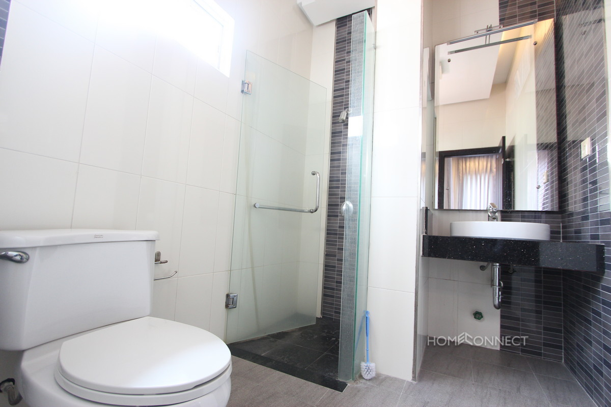 Western 3 Bedroom Family Villa For Rent Near Aeon Mall | Phnom Penh Real Estate