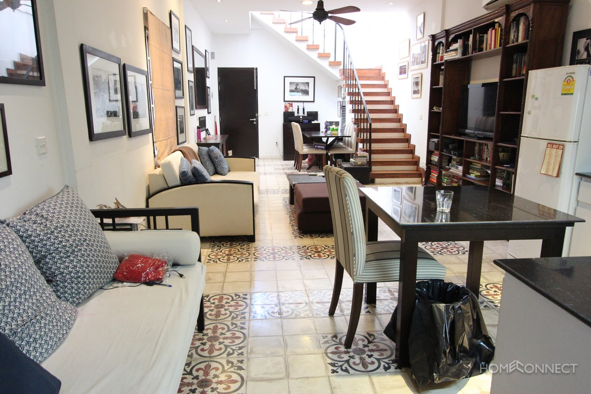 French Colonial 2 Bedroom 2 Bathroom Near the Royal Palace | Phnom Penh Real Estate