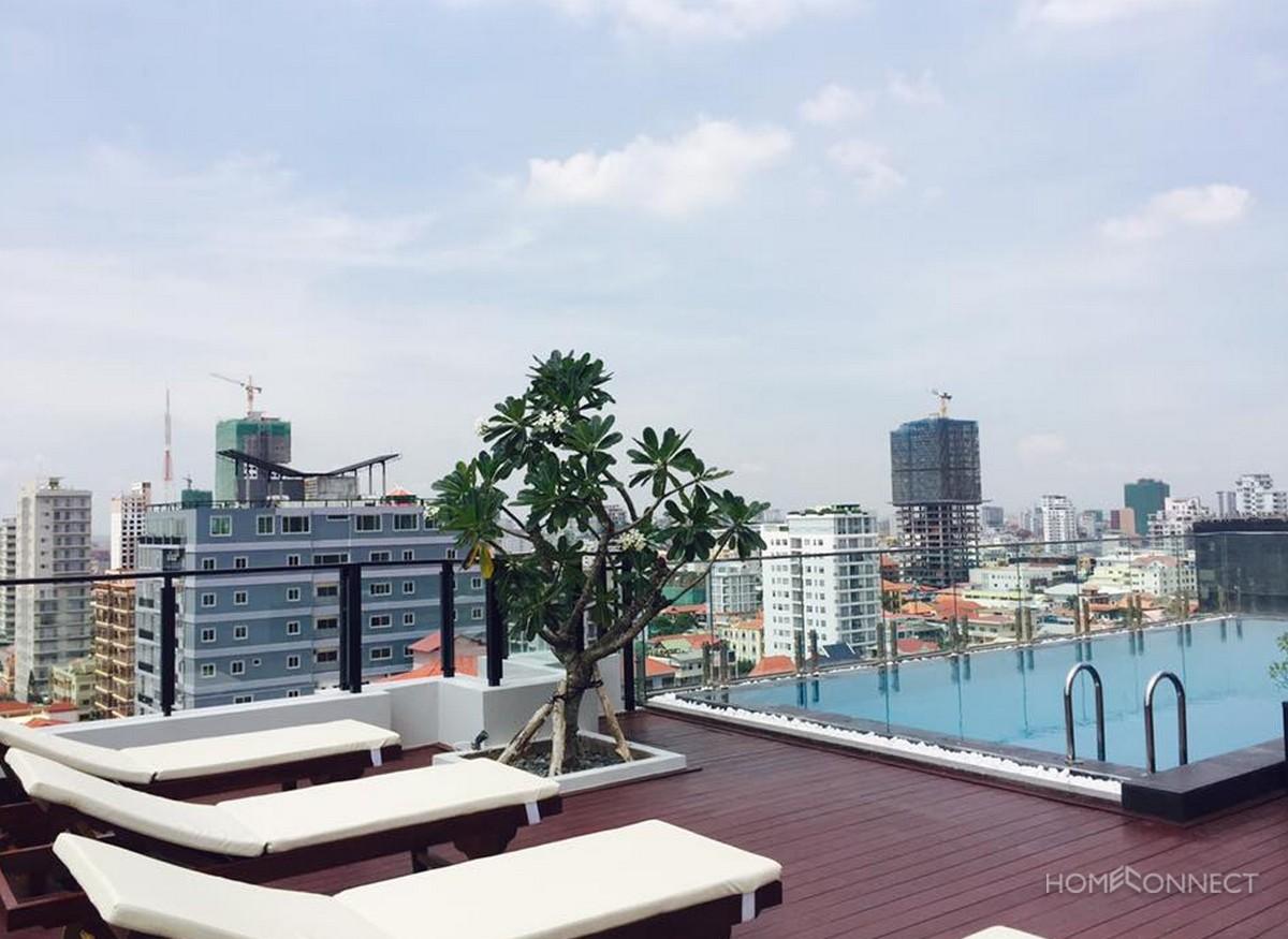 New Serviced 3 Bedroom 3 Bathroom Apartment in BKK1 | Phnom Penh Real Estate