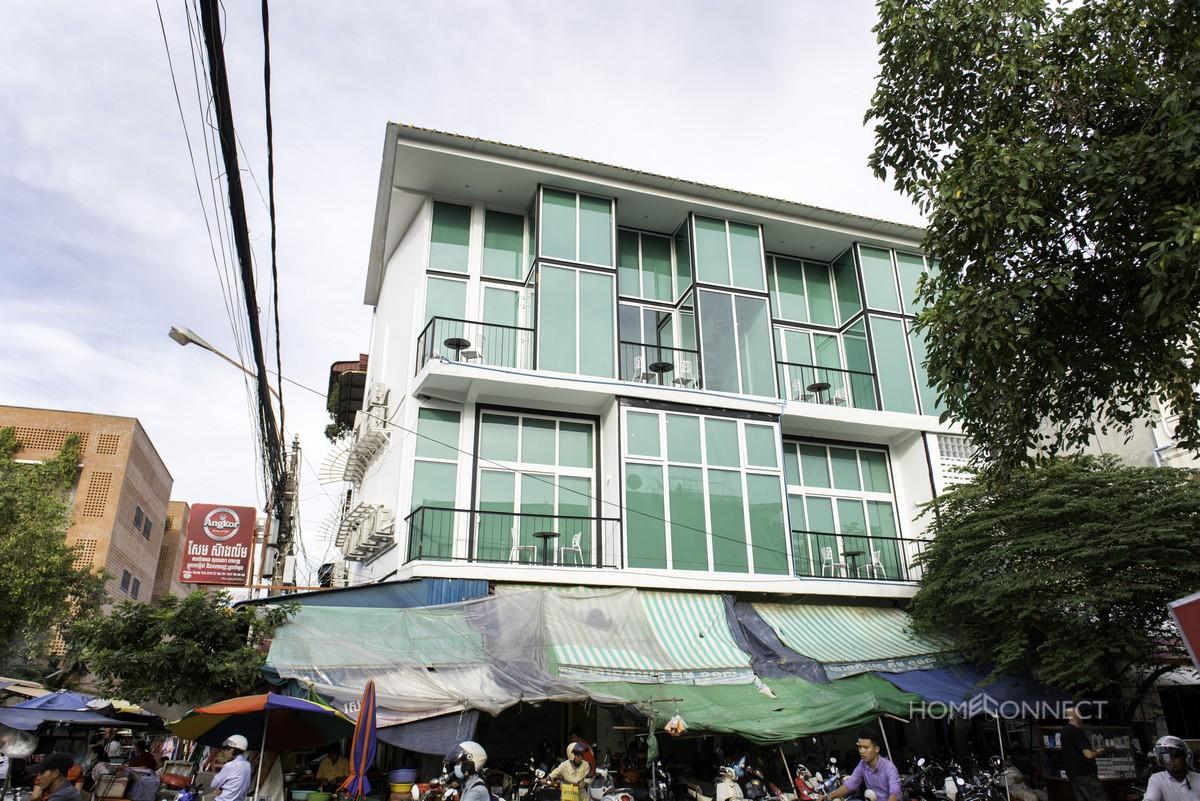 New York Style 2 Bedroom 2 Bathroom Loft Apartment Near Wat Phnom | Phnom Penh Real Estate