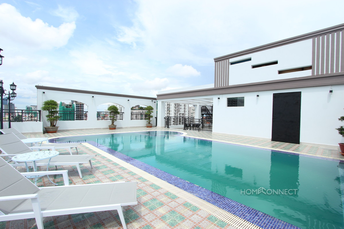 Western Style Large 3 Bedroom Apartment For Rent in BKK1   Phnom Penh Real Estate