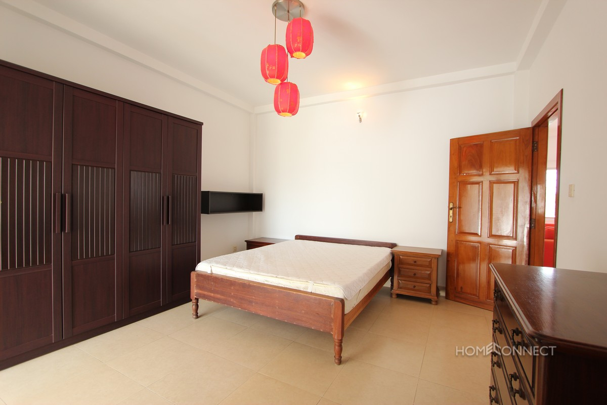 Large Terrace 2 Bedroom Apartment For Rent In Wat Phnom   Phnom Penh Real Estate