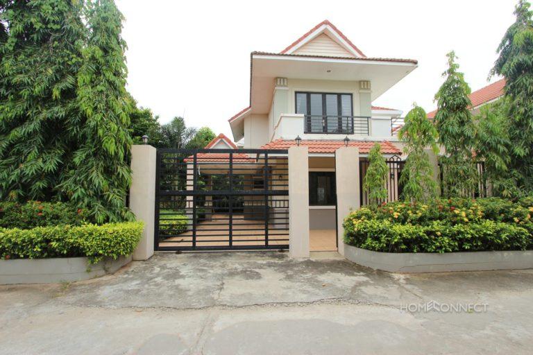 Four Bedroom Villa For Rent With a Large Garden in Prek Eng   Phnom Penh Real Estate