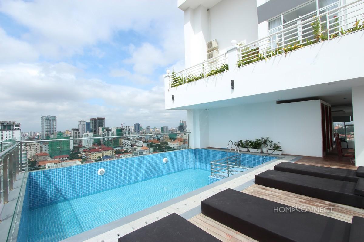 Brand New Modern 2 Bedroom 2 Bathroom Apartment for Rent in Tonle Bassac   Phnom Penh Real Estate