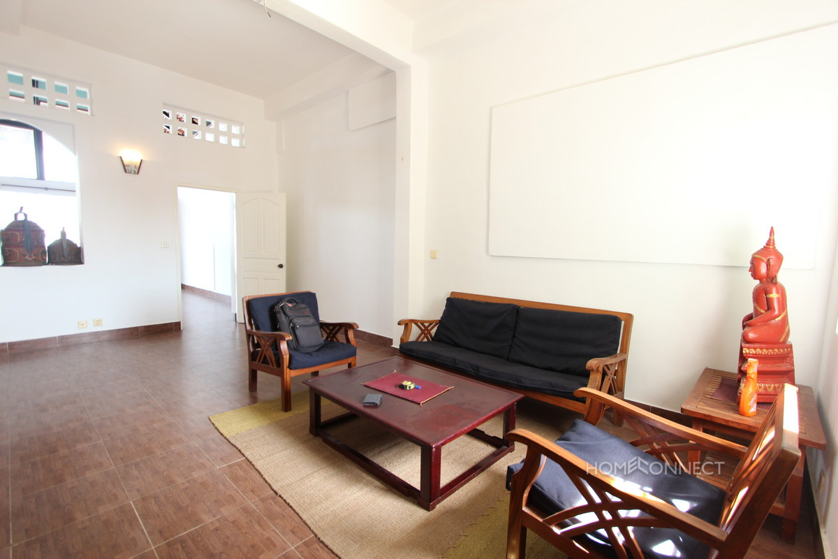 Private Rooftop Two Bedroom Apartment For Rent Near Riverside   Phnom Penh Real Estate