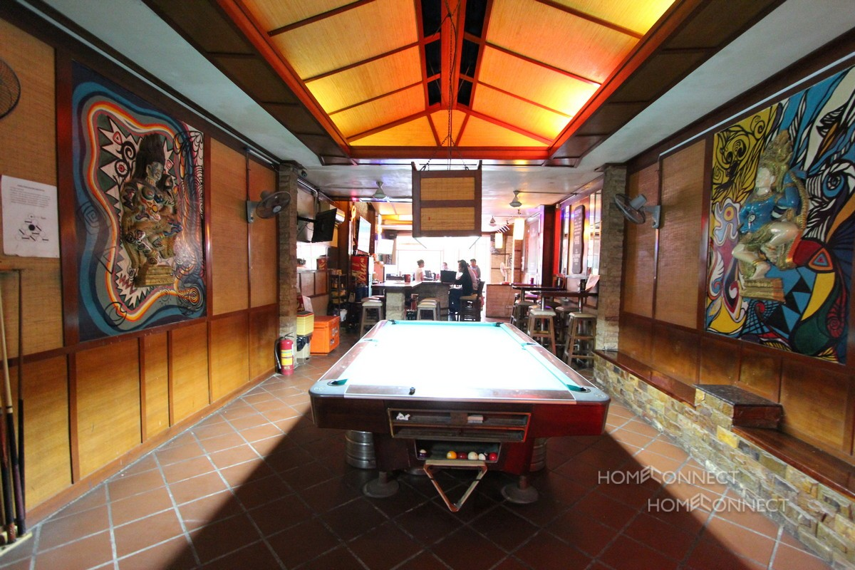 Riverside Guesthouse For Sale Near Wat Phnom | Phnom Penh Real Estate