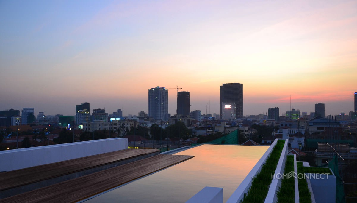 Modern 2 Bedroom Apartment For Rent Close to Independence Monument | Phnom Penh Real Estate