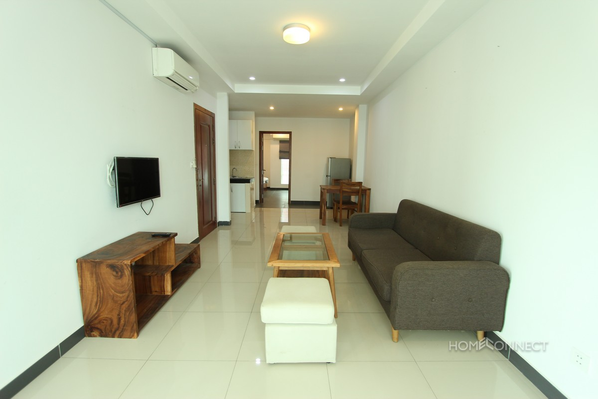 Bright 1 Bedroom Modern Apartment in BKK3 | Phnom Penh Real Estate